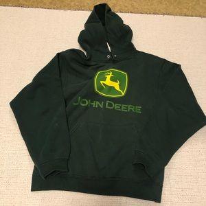 John Deere Hooded Sweatshirt